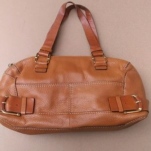 Michael Kors Brown Leather Shoulderbag